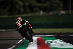 Jonathan Rea claimed his maiden World Superbike victory of 2019 as he dominated race one at Imola in Italy on Saturday.