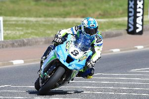 Dean Harrison topped the Superbike times on the Silicone Engineering Kawasaki on Tuesday.