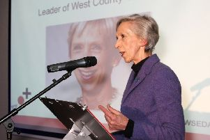 Louise Goldsmith, leader of West Sussex County Council