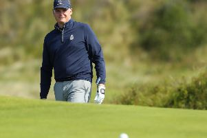 Gary McNeill in action at the 148th Open Championship