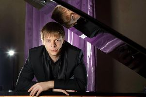 Acclaimed pianist Nikolai Saratovsky is performing at Highgate House