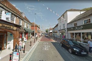 Hailsham High Street, image from Google