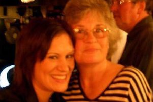Katy Page and her mother Denise Oliver