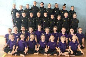 Suki gymnasts who competed in Wales