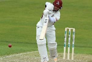 Ricardo Vasconcelos topped the Northants first-class batting averages last summer