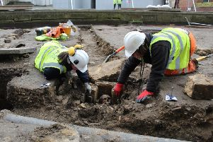 Excavations at Lincoln Cathedral