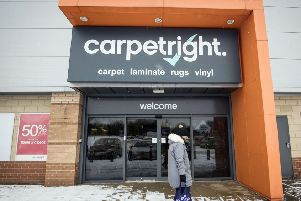 File photo dated 01/03/18 of a Carpetright in Leeds, as the embattled retailer has put jobs under threat as it draws up sweeping restructuring plans which will close poorly-performing stores and see it tap investors for up to �60 million. PRESS ASSOCIATION Photo. Issue date: Thursday March 1, 2018. See PA story CITY Carpetright. Photo credit should read: Danny Lawson/PA Wire