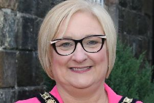 Mayor Cllr Brenda Chivers of Causeway Coast and Glens Borough Council