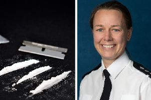 Chief Inspector Sarah Godley (right) is frustrated that cocaine is seen as 'socially acceptable' by many in Hastings