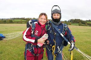 Gillian and her instructor