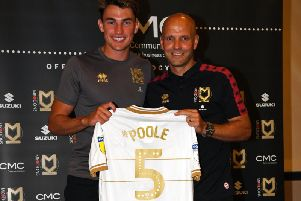 Regan Poole was added to the squad in the summer