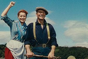John Wayne and Maureen O'Hara, stars of The Quiet Man, which will be screened for free in Flowerfield Arts Centre