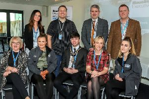 Causeway Regional Homelessness Group with the Mayor of Causeway Coast and Glens Borough Council, Cllr Sean Bateson
