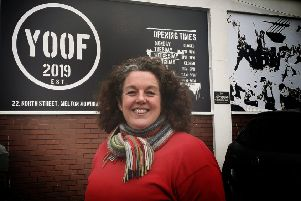 Yoof founder Christine Bligh outside the Snow Hill premises EMN-200131-130424001