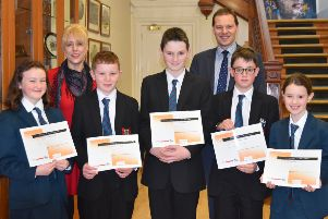 The Banbridge Academy Quiz team were runners up in the province wide Kids' Literature Quiz.