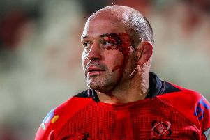 Ulster's Rory Best after the game