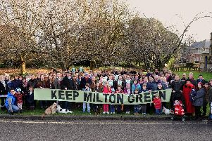 Campaign group Keep Milton Green
