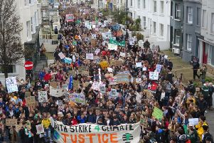 Youth Climate Strike in Brighton. Picture by Eddie Mitchell