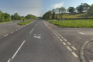 The tragic incident occurred on the A1 at the junction of Gowdystown Road. Pic by Google