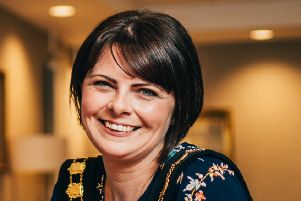 Lord Mayor of Armagh City, Banbridge and Craigavon, Councillor Julie Flaherty.