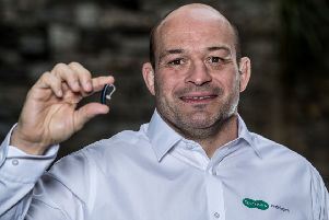 Ulster and Ireland captain Rory Best, who was unveiled as ambassador for Specsavers Audiologists 'Don't Suffer in Silence' campaign