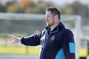 Ulster junior women's coach Davy Menaul
