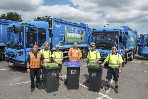 Worthing & Adur Councils are launching fortnightly bin collections. Photo: Simon Dack/Vervate