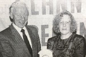 In 1992 Mr Pat McMahon presented a clock to Mrs Aileen Lavery as a token of the club's appreciation for her interest in the development of the Clann Eirann camogie club