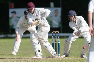 Jack Davies scored 100 for Portsmouth & Southsea in their win against Bashley (Rydal) II   Picture: Keith Woodland