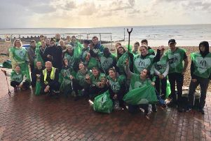 Environment First service at the seafront