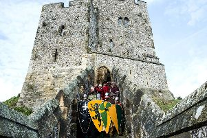 12th Century Knights at the Castle 15 September 2019