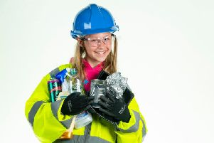 Meet Mia who is helping to cut the confusion of recycling in West Sussex