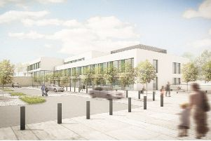 Artists impression of the new Health Hub