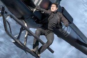 Tom Cruise in Mission Impossible: Fallout