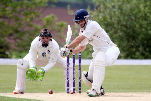 Banbury captain Lloyd Sabin completed a century at Finchampstead