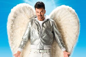 Peter Andre stars in Grease as Teen Angel which is choreographed by Arlene Phillips