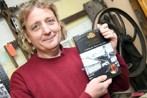 Matt Armitage at the lauch of his new book on the history of Tooley's Boatyard NNL-180710-131809009