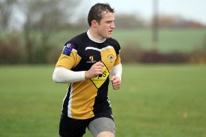 Harry Clark scored Shipston's first try against Alcester