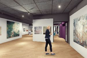 Artists impression of the Pye Gallery at Banbury Museum NNL-180813-115256001