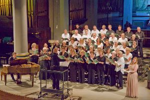 Banbury Choral Society will sing in St Mary's Church this weekend, accompanied by the Oxford Sinfonia