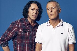 Tears for Fears. Picture from Baxter PR