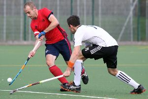 Banbury's George Brooker goes on the attack against London Edwardians. Photo: Steve Prouse