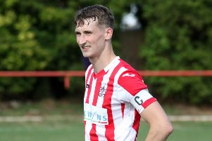 Dan Watkin was on the mark for Easington Sports at Newent Town