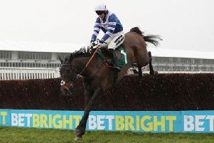 Frodon and Bryony Frost on their way to victory at Cheltenham NNL-190128-111643002