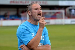 Brackley Town manager Kevin Wilkin knows holders face a tough test at Chesterfield
