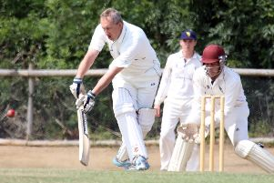 Martin Anson helped Sandford St Martin to victory