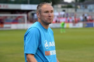 Brackley Town manager Kevin Wilkin was proud of his players