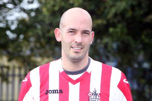 Easington Sports manager Ben Milner