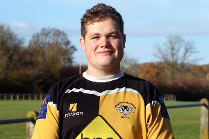 Aaron Neal bagged a brace of tries for Shipston-on-Stour