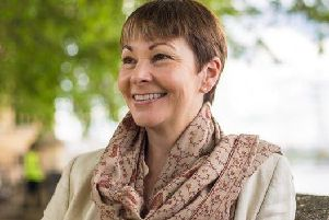 Caroline Lucas, Green MP for Brighton Pavilion
